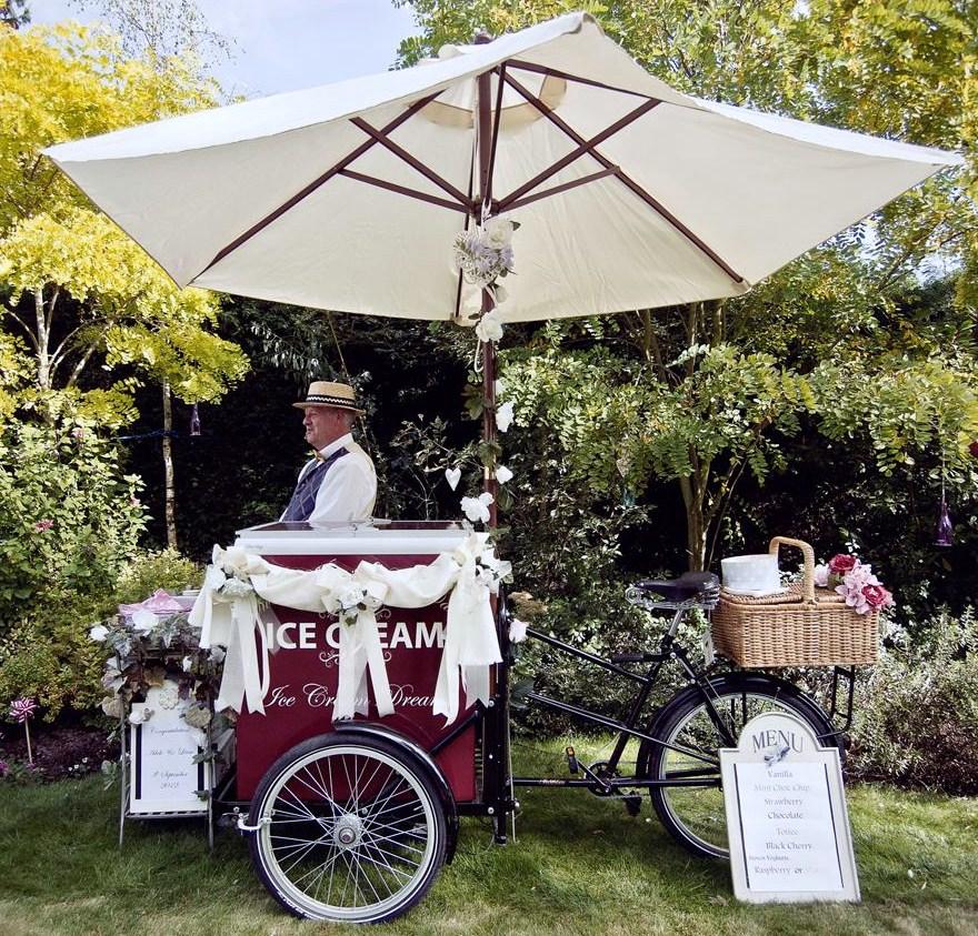 ice cream bikes in Cambridgeshire